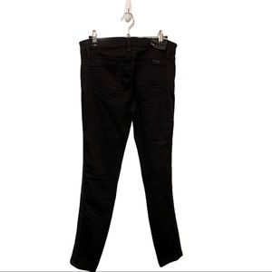 Joe's jeans black pants Embellished front